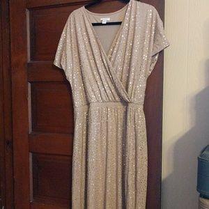 Sequin maxi dress Garnet Hill